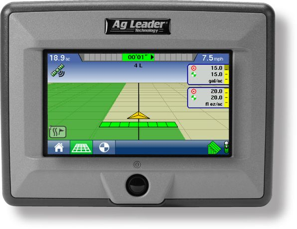 Ag Leader EDGE GPS - монитор (курсоуказатель) для точного земледели