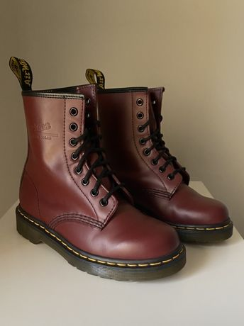 Buty Dr. Martens 1460 smooth cherry red rouge 36