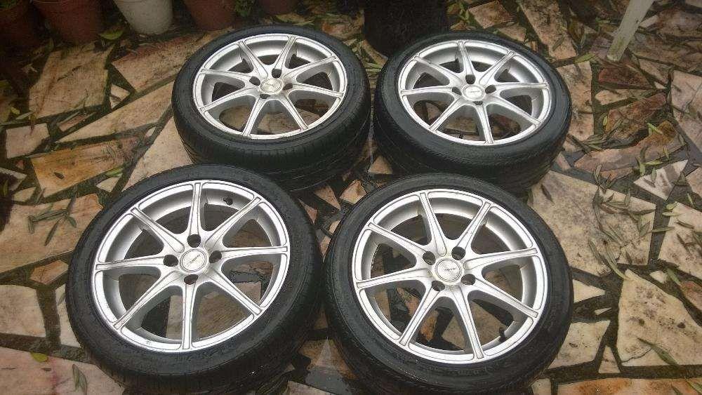 Jantes com pneus 4x10 Freixial E Juncal Do Campo - imagem 1