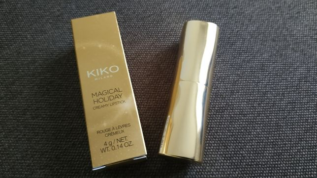 Помада KIKO MILANO MAGICAL HOLIDAY creamy lipstick №1. Оригинал
