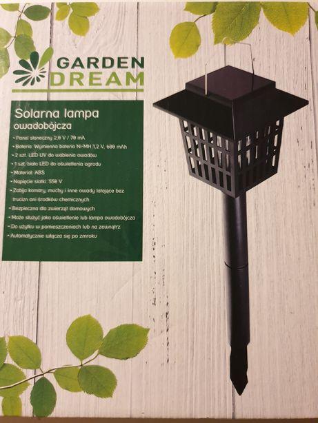 Solarna lampa owadobójcza LED