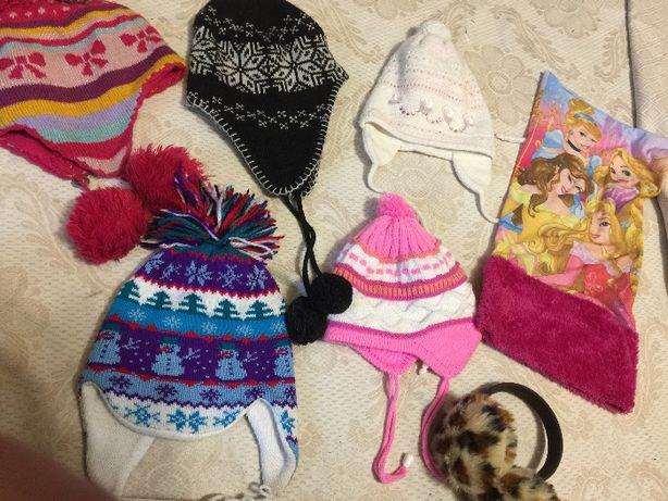 Зимния шапка на девочку