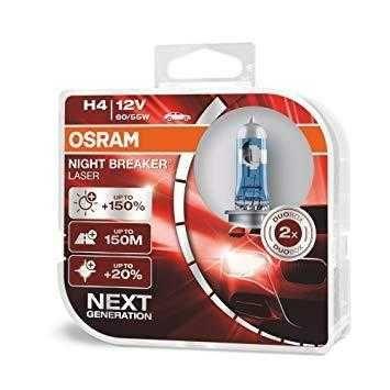 Галогеновые лампы Osram Night Breaker Laser H4