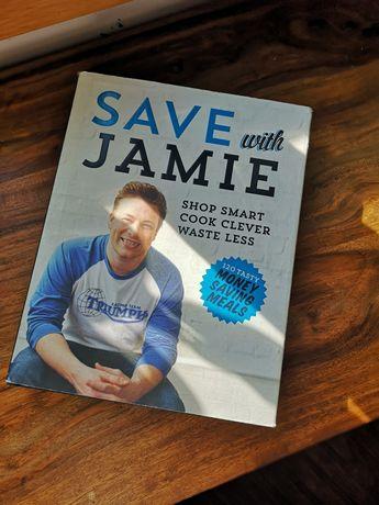 Jamie Oliver Save with Jamie książka kucharska angielski
