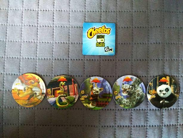 Karty Tazo Żetony Ben 10 Omniverse, Kung fu panda 3D