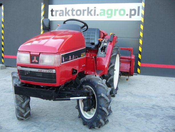 Traktorek , Ciągnik Ogrodniczy MITSUBISHI MT205, 20KM Import z Japonii