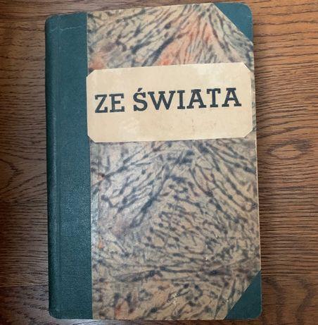 Dwie książki 'Ze Świata' z 1937r. oraz 'Podania i Baśnie Ludu' z 1955r