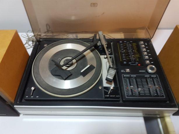 gira discos com radio