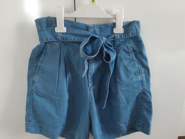 Krótkie spodenki ala jeansowe H&M L.O.G.G.