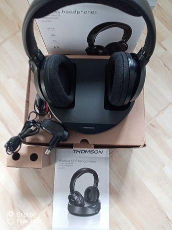 Słuchawki nauszne bezprzewodowe Thomson WHP3777