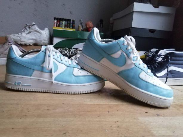 Nike air force 1 azul bebé