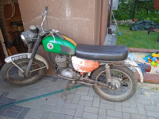 Silnik WSK 125 do remontu