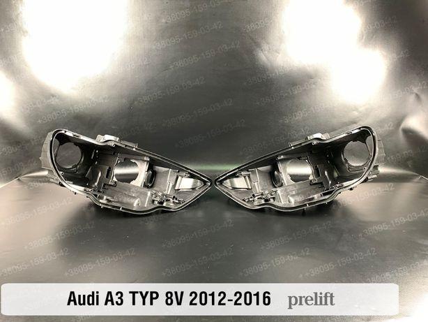 Новый корпус фары Audi A3 A5 фара S3 8V 8T 2012-16 Ауди А3 А5 8В 8Т