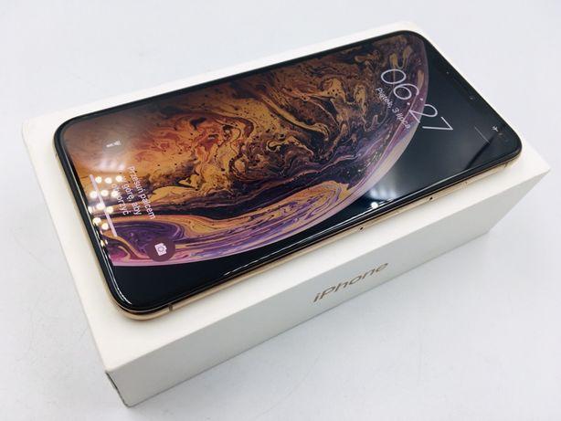 iPhone XS MAX 64GB GOLD • PROMOCJA • GWAR 1 MSC • AppleCentrum