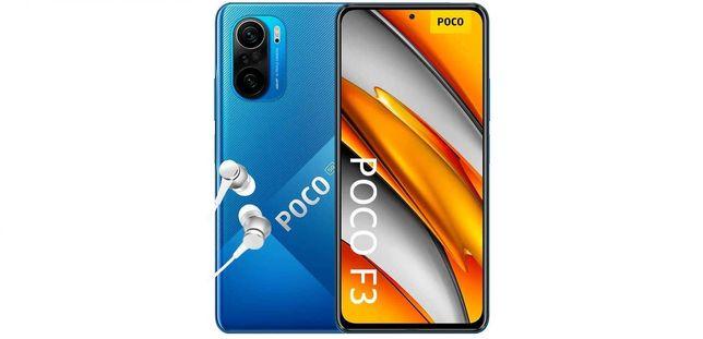 POCO F3 5G -6/128GB e 8/256GB -NOVO SELADO -2 Anos Garantia -c/auric