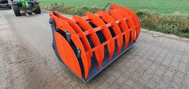 Łyżko krokodyl ząb palony 2 m ładowarki ciągnika