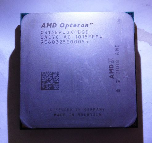Процессор AMD Opteron 1389 (4x2.9GHz, L3 6MB cache, sAM3)