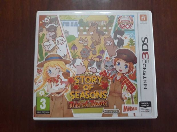 Story Of Seasons Trio Of Towns | Nintendo 3DS | Completo