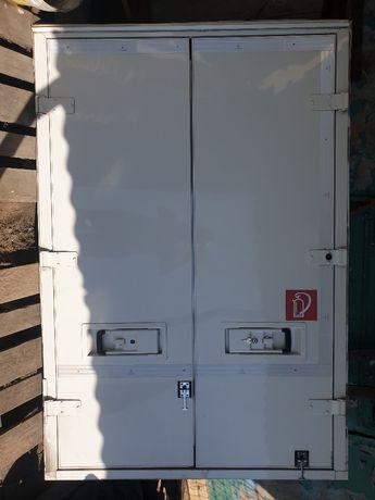 drzwi kompletne dwuskrzydłowe hermetyczne do izotermy