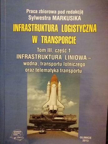 Książka pt. Infrastruktura logistyczna w transporcie