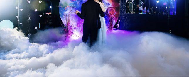 Ciężki dym na pierwszy taniec / taniec w chmurach KROTOSZYN i okolice