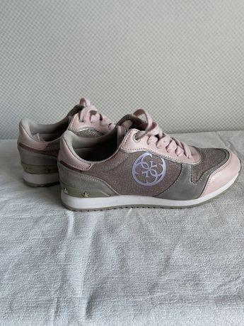 Розовые кроссовки guess оригинал