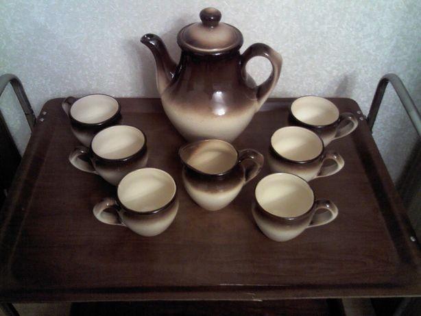 Кофейный сервиз, керамика Буды