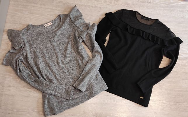 Dwa sweterki Mohito,Casual rozm.36-38