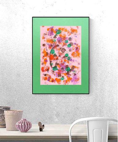 nowoczesny rysunek, abstrakcja do pokoju, abstrakcyjna grafika do domu