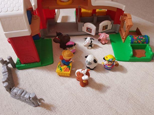 Quinta da Fisher Price, com animais, bonecos e Acessórios