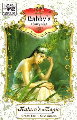 """Чай зеленый Gabby's """"Магия Природы"""" OPA 100г."""