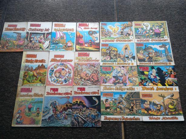stare komiksy PRL Kajko i Kokosz Koziołek Matołek Bolek i Lolek + inne