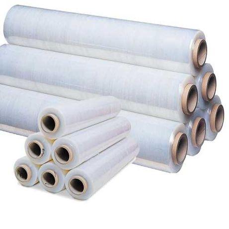 Folia stretch Powerplus transparent 17 micronów odpowiednik 3kg.