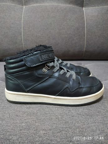 Деми ботинки хайтопы H&M 35р.
