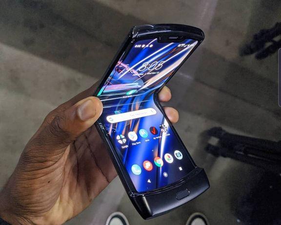 NOWY Smartfon Motorola RAZR 6/128 Black eSIM Moto Składany Foldable
