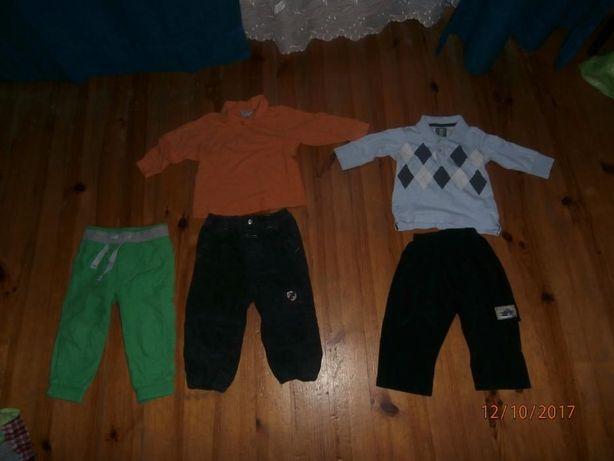ubranka dla chłopca zestaw y 80-86cm, 92-98 cm, 104 cm
