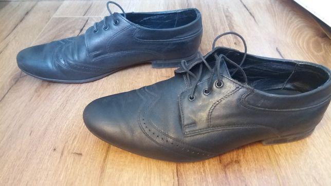 Туфли кожанные на подростка +ПОДАРОК ещё одна пара