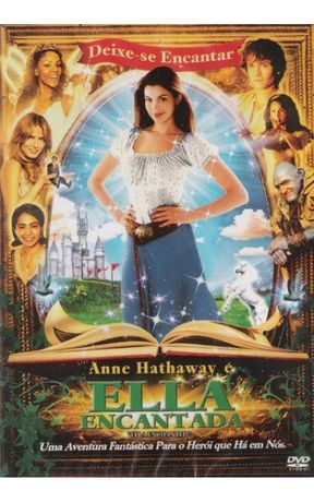 Dvd NOVO Ella Encantada Plastificado Entrega IMEDIATA Anne Hathaway