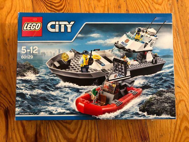 конструктор LEGO City Police Полицейский патрульный катер (60129) б/у