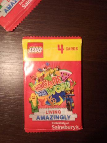 Коллекционные наборы карточек Lego