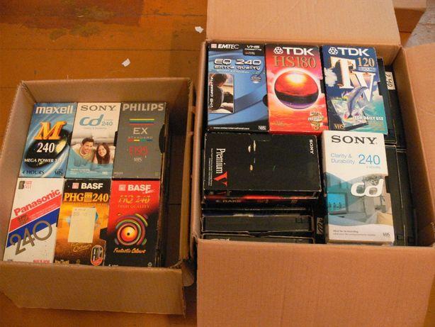 Sprzedam kasety wideo VHS