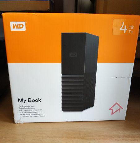 Внешний жесткий диск WD 4 TB Western Digital Mybook настольный НОВЫЙ