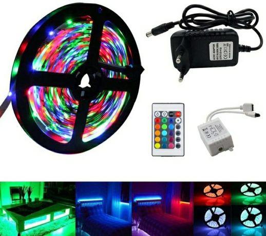 Fita de Led RGB 5M *Kit Completo*