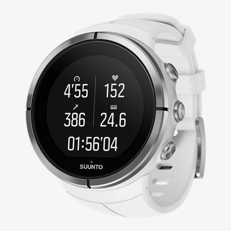 Zegarek suunto Spartan ultra white HR , pad mierzący tętnio