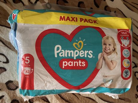 Подгузники-трусики Pampers 5