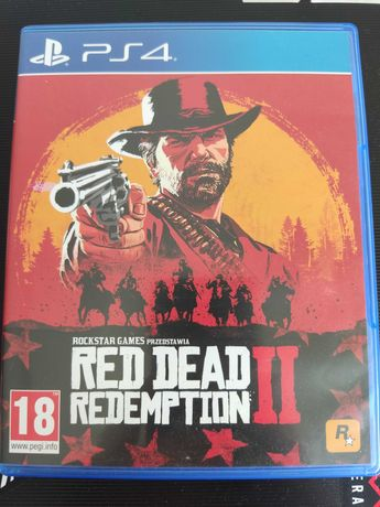 Red Dead Redemption 2 PS4 PL stan idealny