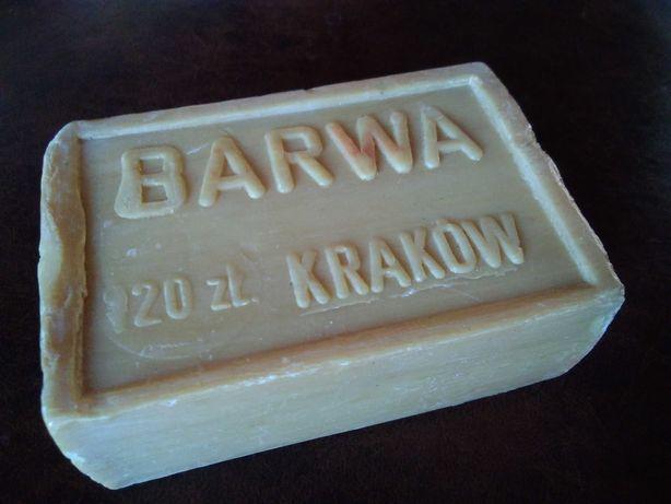 Szare mydło Kraków PRL Vintage