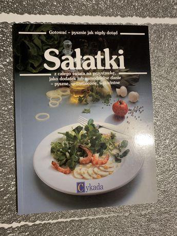 Książka o sałatkacj