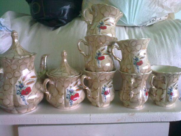 Сервиз чайный, чашки, красивый набор, новый