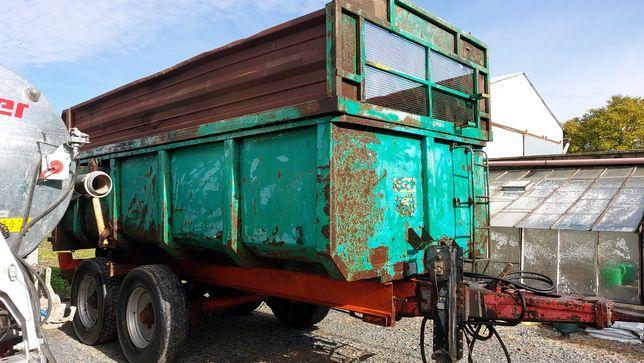 Przyczepa tandem mulda 16 ton